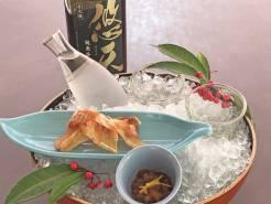 寒い日にはおいしい日本酒。